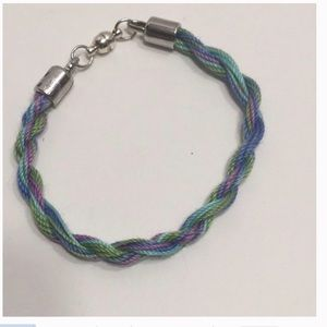 Variegated Cotton Thread Bracelet